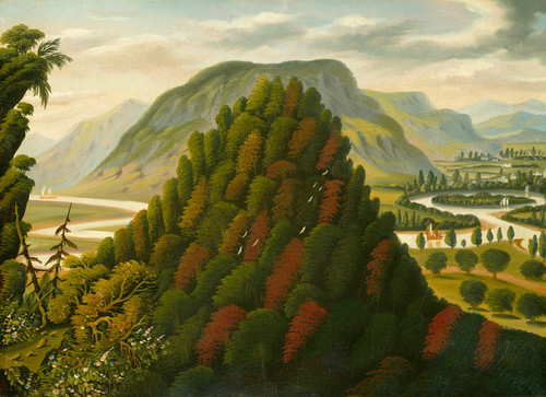 Art Prints of The Connecticut Valley by Thomas Chambers
