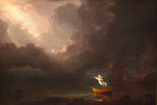Art Prints of Voyage of Life, Old Age by Thomas Cole