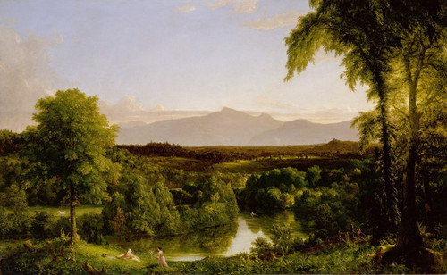 Art Prints of View on the Catskill by Thomas Cole