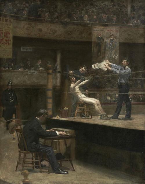 Art Prints of Between Rounds by Thomas Eakins