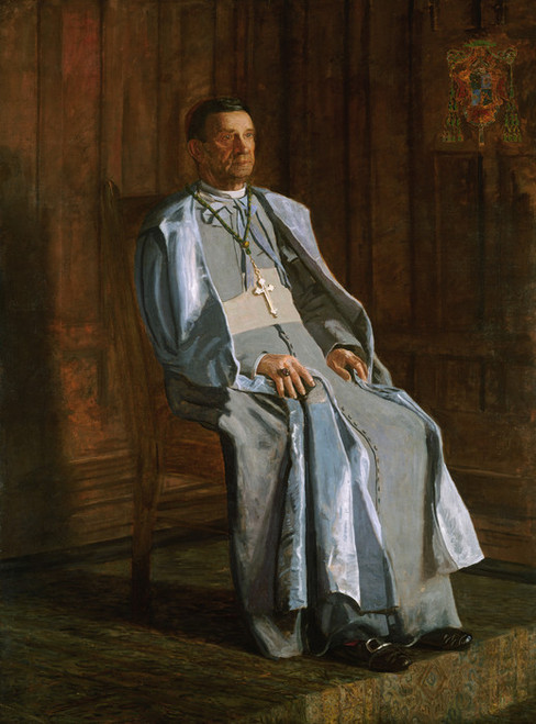 Art Prints of Archbishop Diomede Falconio by Thomas Eakins
