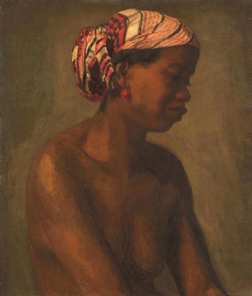Art Prints of Female Model by Thomas Eakins