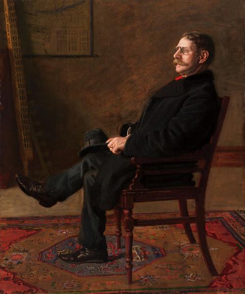 Art Prints of Frank Jay St. John 1900 by Thomas Eakins