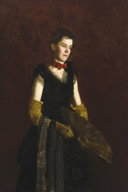 Art Prints of Letitia Wilson Jordan by Thomas Eakins