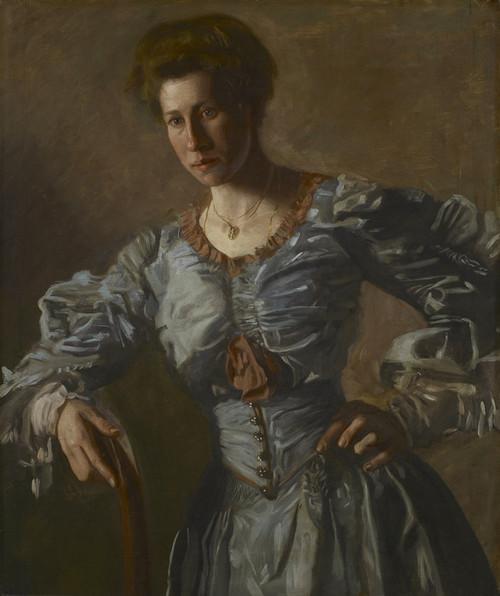Art Prints of Portrait of Elizabeth L. Burton by Thomas Eakins