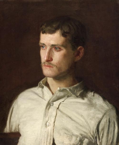Art Prints of Portrait of Douglass Morgan Hall by Thomas Eakins