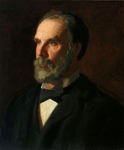 Art Prints of Professor William Woolsey Johnson by Thomas Eakins