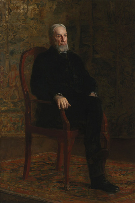Art Prints of Robert C Ogden by Thomas Eakins