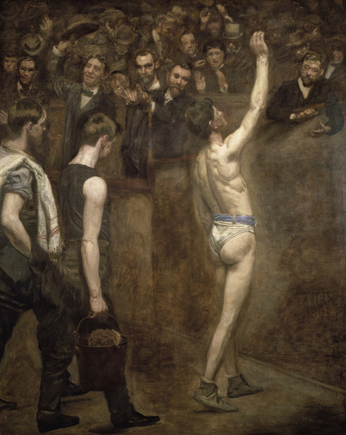 Art Prints of Salutat by Thomas Eakins