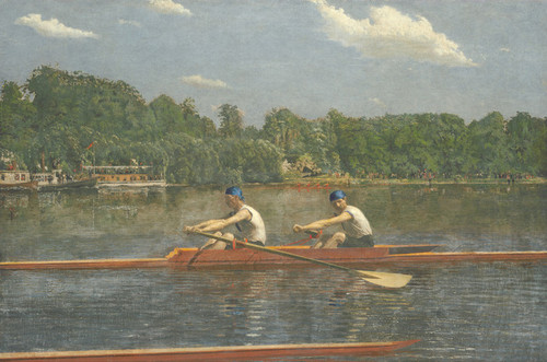 Art Prints of The Biglin Brothers Racing by Thomas Eakins