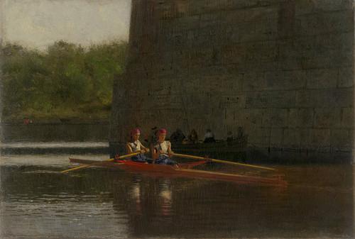 Art Prints of The Oarsmen by Thomas Eakins