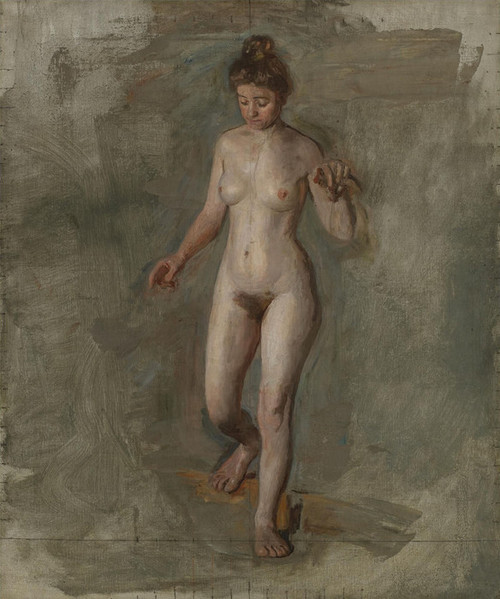 Art Prints of The Model by Thomas Eakins