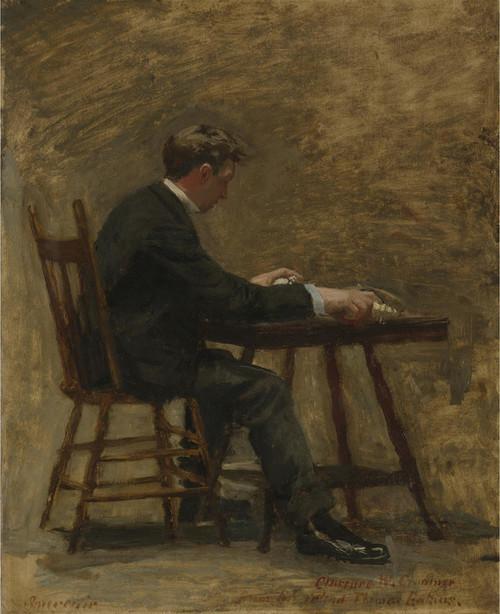 Art Prints of The Timer by Thomas Eakins