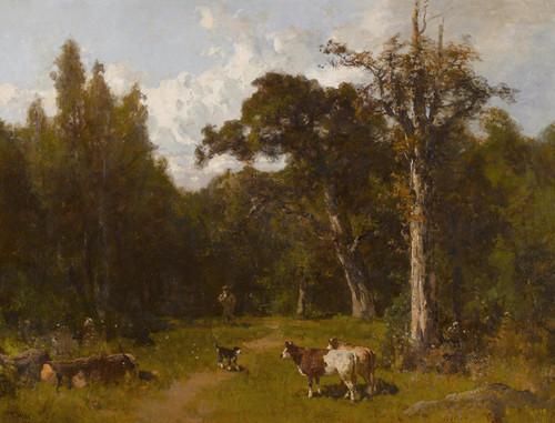 Art Prints of Autumn Landscape by Thomas Hill