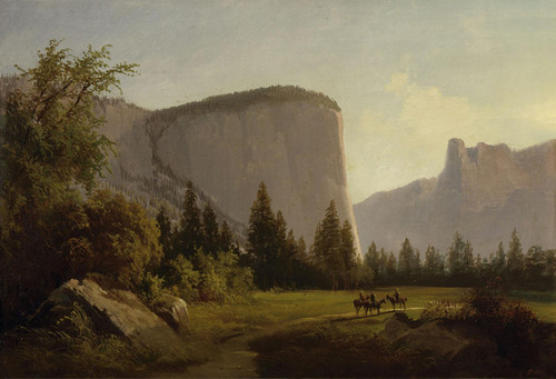 Art Prints of El Capitan by Thomas Hill