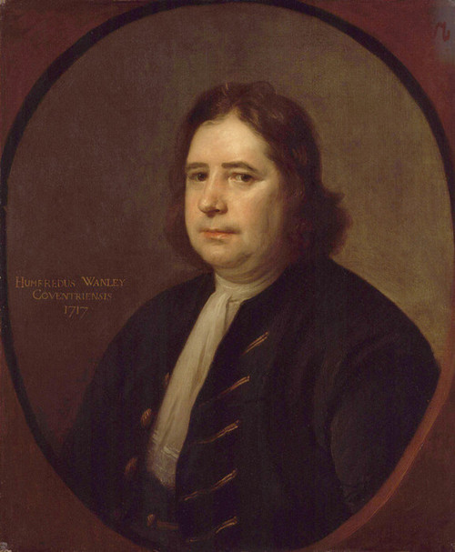 Art Prints of Humphrey Wanley by Thomas Hill