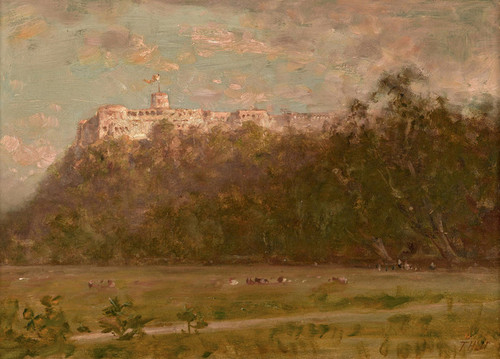 Art Prints of Monte Cassino Italy by Thomas Hill