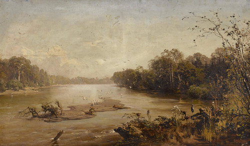 Art Prints of River Landscape by Thomas Hill