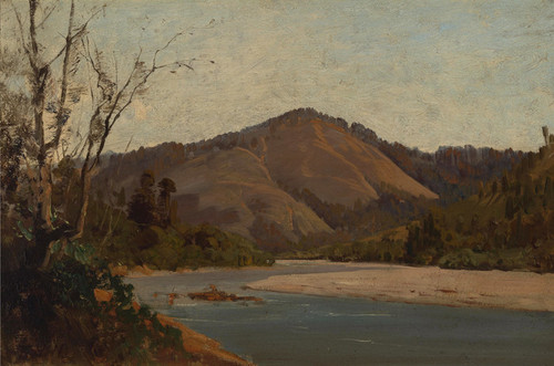Art Prints of Thought to be the Russian River by Thomas Hill
