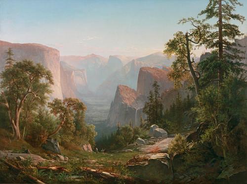 Art Prints of Yosemite Valley IV by Thomas Hill