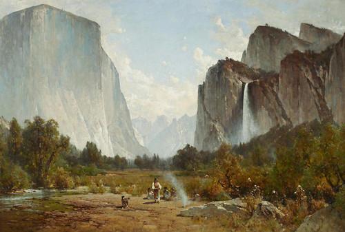 Art Prints of Yosemite Valley V by Thomas Hill