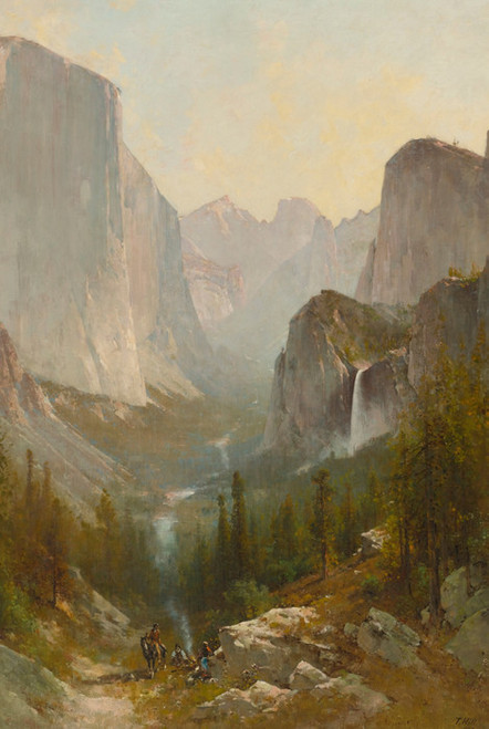 Art Prints of Yosemite Valley III by Thomas Hill