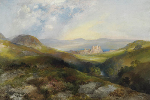 Art Prints of Conway Castle by Thomas Moran