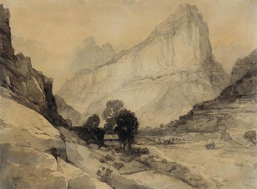 Art Prints of Green River, Wyoming by Thomas Moran