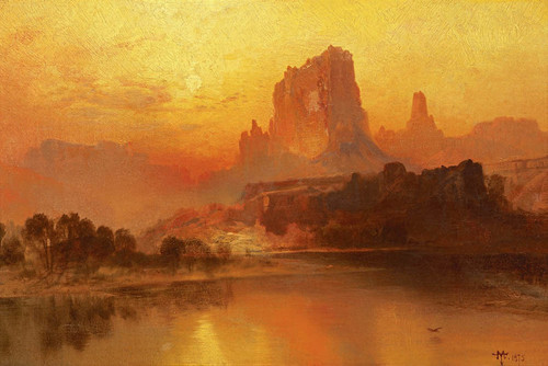 Art Prints of The Golden Hour by Thomas Moran