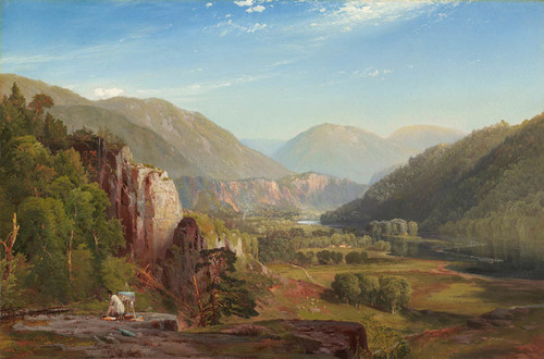 Art Prints of The Juniata Evening 1864 by Thomas Moran