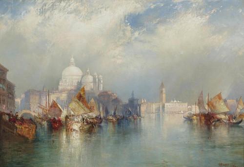 Art Prints of Venetian Scene by Thomas Moran