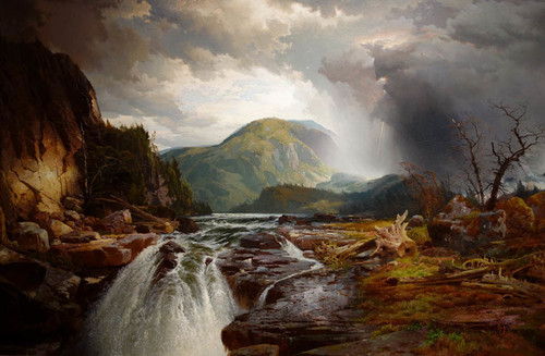 Art Prints of The Wilds of Lake Superior by Thomas Moran