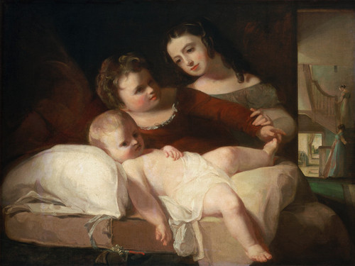 Art Prints of The David Children by Thomas Sully