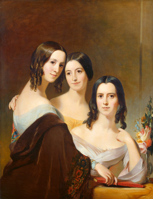 Art Prints of The Coleman Sisters by Thomas Sully