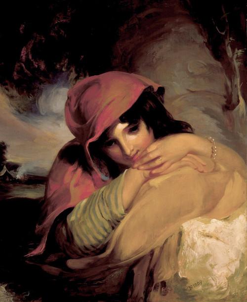 Art Prints of The Gypsy Girl by Thomas Sully