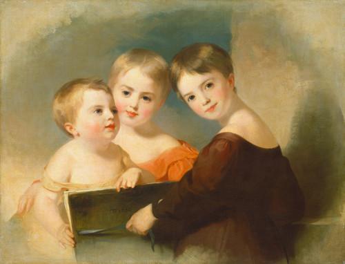 Art Prints of The Vanderkemp Sisters by Thomas Sully