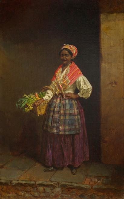 Art Prints of Market Woman by Thomas Waterman Wood