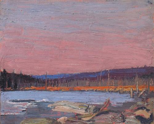 Art Prints of A Northern Lake by Tom Thomson