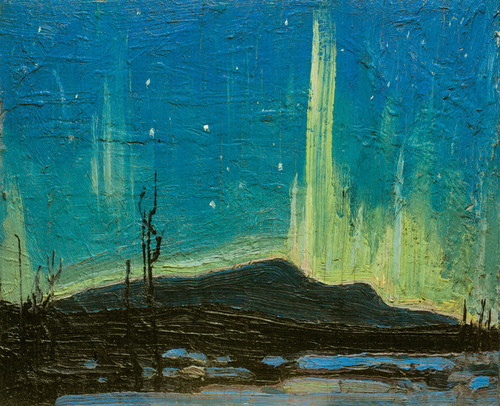 Art Prints of Northern Lights, Spring by Tom Thomson