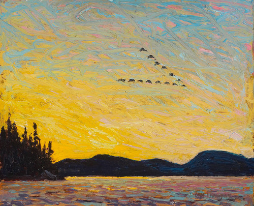 Art Prints of Round Lake, Mud Bay by Tom Thomson