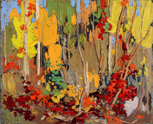 Art Prints of Sketch for Autumn's Garland by Tom Thomson
