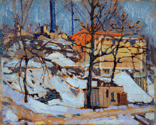 Art Prints of Twilight, Winter by Tom Thomson