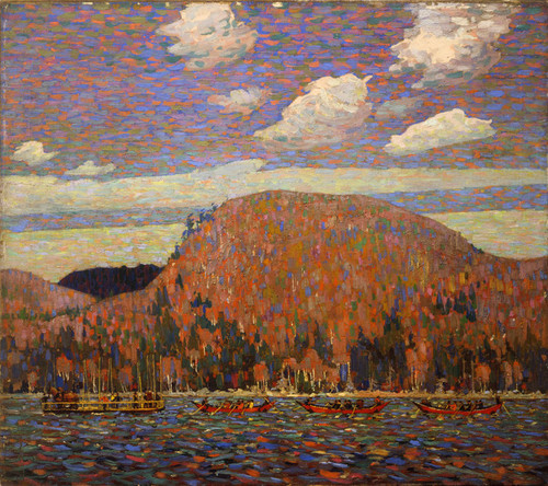 Art Prints of The Pointers by Tom Thomson