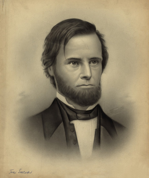 Art Prints of John Sherman 1846 (22933L) by an Unknown Artist