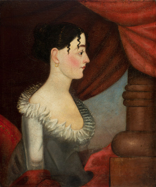 Art Prints of Portrait of a Woman by an Unknown Artist