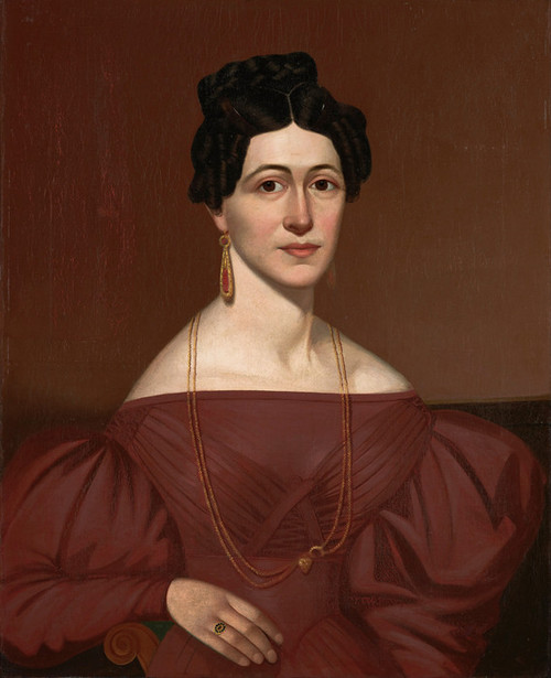 Art Prints of Portrait of Eliza C. Ayres by an Unknown Artist