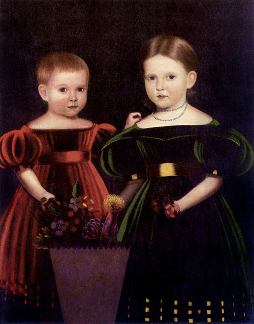 Art Prints of Two Children of the Torrey Family
