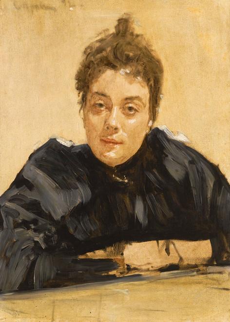 Art Prints of Portrait of a Lady by Valentin Serov