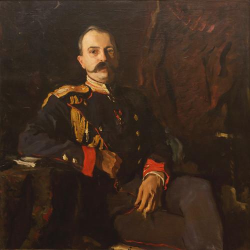 Art Prints of Portrait of Grand Duke Georgy Mikhailovich by Valentin Serov