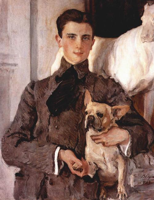 Art Prints of Portrait of Count Felix Sumarokov Elston by Valentin Serov